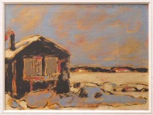 David Milne - Winter Sky